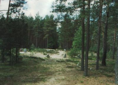 Krąg nr I po rekonstrukcji